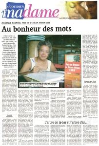 Le Quotidien, 15 février 2005